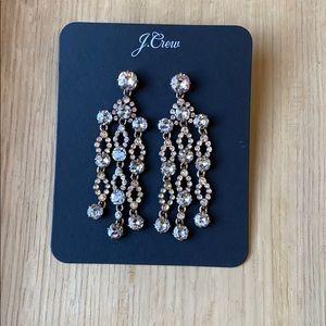 Jcrew Icicle Chandelier Earrings